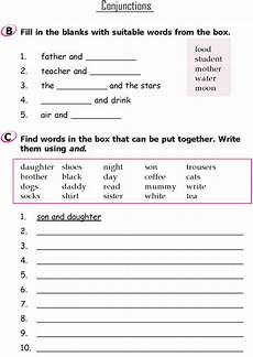 grammar worksheet for grade 1 25174 grade 1 grammar lesson 17 conjunctions conjunctions worksheet grammar lessons