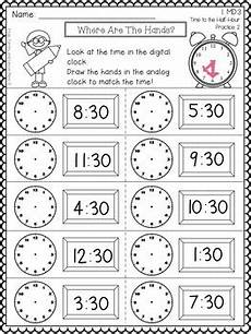 time worksheets level 1 3070 grade telling time by frogs fairies and lesson plans tpt