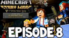 the begin in minecraft story mode episode 8 minecraft story mode episode 8 spleef battle quot a