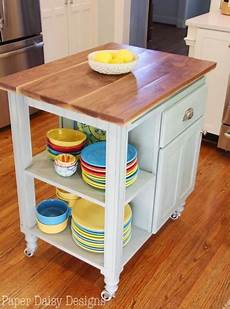 Kitchen Island Cart Diy by 5 Diy Ideas To Create The Kitchen Island For Your