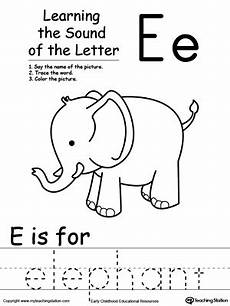 letter e beginning sounds worksheets 24099 learning beginning letter sound e myteachingstation