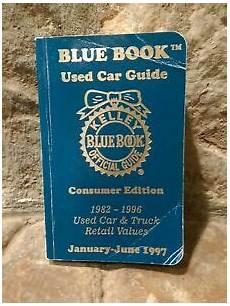 kelley blue book used cars value trade 1996 toyota 4runner user handbook kelley blue book official used car guide jan jun 1997 car truck retail values 9781883392147 ebay