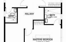 two story house plans series php 2014004 pinoy two story house plans series php 2014004 in 2020 two
