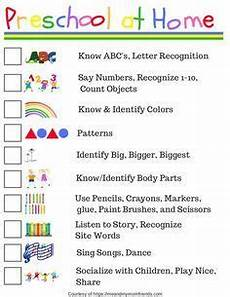 preschool at home free printable checklist schooling preschool at home toddler learning