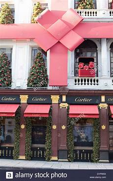 Store For Decorations by Cartier Shop Front Decorations On The Streets Of