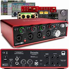 Focusrite 18i8 2nd Generation Usb Audio Interface