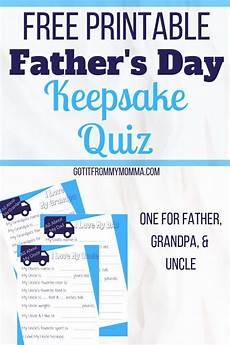 s day printable quiz 20588 s day quiz free printable keepsake fathers day big gifts