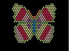 glowing lite brite lite brite refill sheet butterfly