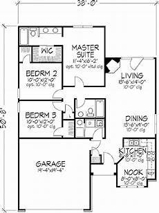 1250 sq ft house plans traditional style house plan 3 beds 2 baths 1250 sq ft