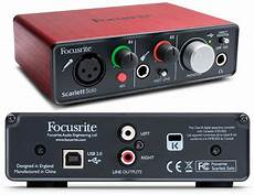 focusrite 2i2 focusrite usb audio interface review the wire realm