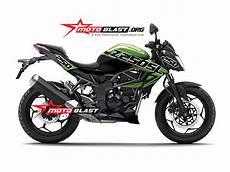 Z250sl Modif by Modif Striping Z250sl Green Motoblast