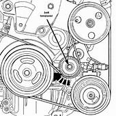 How To Replace Alternator Belt On Pt Cruiser  Image Of