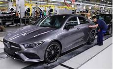 mercedes commences production of the 2020 coupe