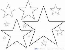 Sterne Malvorlagen Vorlage Ausschneiden 375 Malvorlage