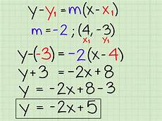 slope y intercept form 6 ways to use the slope intercept form in algebra wikihow