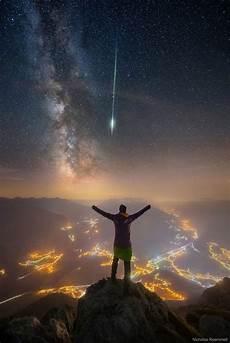 Apod 2019 January 14 Meteor And Way The Alps