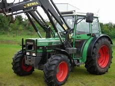 traktor allrad frontlader traktor fendt 275 allrad mit frontlader technikboerse