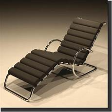 Revitcity Object Mr Chaise Lounge By Ludwig Mies