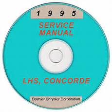 car repair manuals online free 1995 chrysler lhs instrument cluster 1995 chrysler dodge plymouth lhs concorde intreped new yorker vission lh service manual on cd