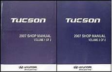 2007 hyundai tucson repair shop manual 2 volume set original 2007 hyundai tucson repair shop manual 2 volume set original