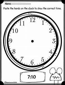 telling time worksheets to the nearest 5 minutes by