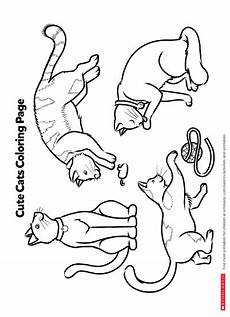 color by number cat coloring pages 18089 color in these cuddly cats worksheets printables scholastic parents