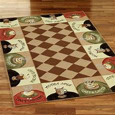 Themed Kitchen Floor Mats by Coffee Themed Kitchen Decor Rug Coffee Kitchen Decor