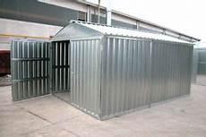 box auto in lamiera prezzi box auto casetta mt 5 07x2 60x2 11 h in lamiera zincata