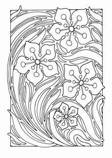 Ausmalbilder Blumenmuster Malvorlage Blumenmuster Kostenlose Ausmalbilder Zum