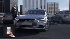 Audi A8 Audi Ai Parking Pilot And Garage Pilot