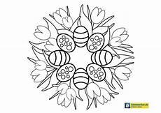 Malvorlagen Ostern Erwachsene Ausmalbild Osternest Easter Nest Coloring Page