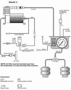 firestone air bag diagram how to install firestone light duty air command single path air system analog