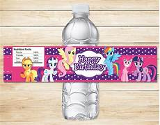 my little pony drink label purple my by partyprintables37 zibbet