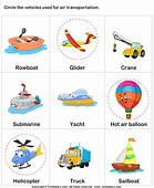Air Transport Answer  Vocab Pinterest Worksheets And