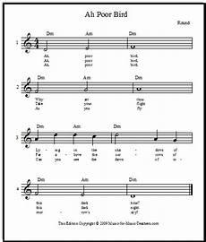 ah poor bird an easy lovely singing free sheet music