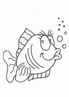 ausmalbilder zum ausdrucken gratis malvorlagen fische 4