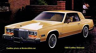 Cadillac Eldorado Specs 1979 1985  MidsizeBowtiesnet