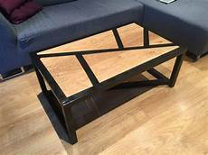 diy table basse bois metal oui are makers