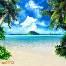 summer beach outdoor 10x10 ft cp photo scenic background backdrop sm1213 ebay