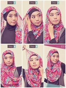 Tutorial Jilbab Simple Pashmina Sifon Tutorial