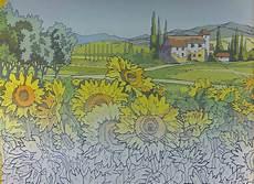 malen nach zahlen sonnenblumen 5003 m2 ebay