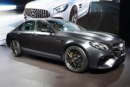 Mercedes AMG Unveils New E63 At 2016 LA Auto Show