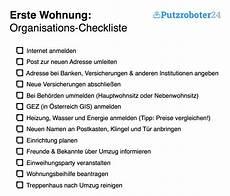 Erste Wohnung Checklisten F 252 R Den Umzug Organisation