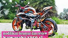 Z250sl Modif by Modifikasi Dan Review Kawasaki Z250 Sl