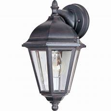 lighting westlake dc 1 light empire bronze outdoor wall 1000eb the home depot