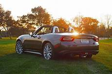 fiat spider 2018 2018 fiat 124 spider open top italian style review