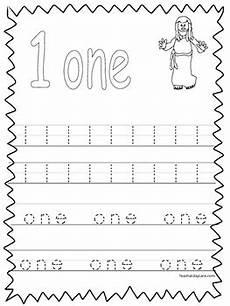 20 bible trace the numbers 1 20 worksheets preschool kdg bible