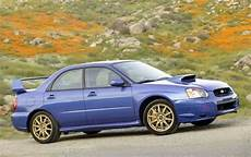 Used 2004 Subaru Impreza Wrx Sti Pricing For Sale Edmunds