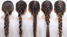 Ways Of Braiding Hair how to braid your hair 6 braid for beginners