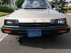 how petrol cars work 1985 honda accord user handbook 1985 honda accord classic honda accord 1985 for sale